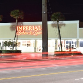 Imperial salon & spa building in Indian Harbour Beach