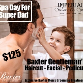 Spa Day For Super Dad