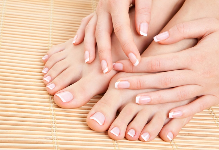 Soothing Almond Manicure & Pedicure: $99
